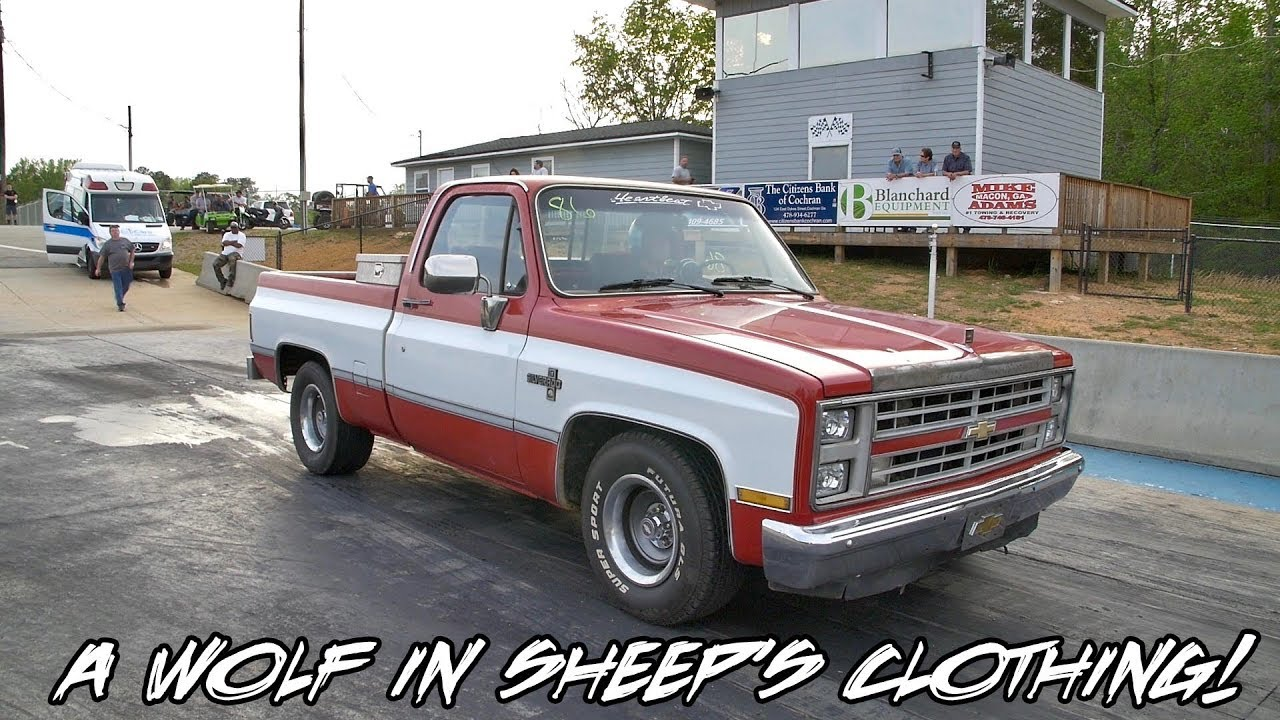 One Mean Sleeper Silverado Work Truck Right Here Shocked A Lot Of People At Wars 3
