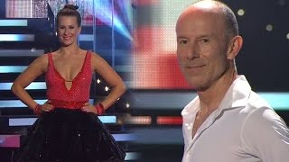 Ingemar Stenmark och Cecilia Ehrling i en swing - Let's Dance (TV4)