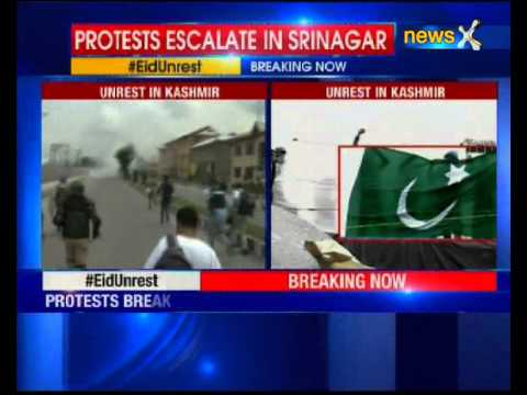 Pakistani, ISIS flags waved during protest over Geelani's detention in Srinagar