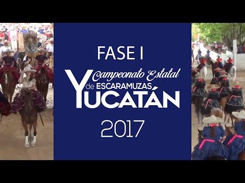 Estatal de Escaramuzas Yucatán 2017 | Puntas y Rutinas