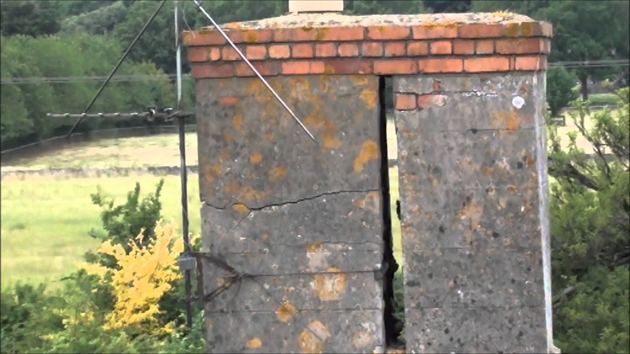 Repairing The Farmhouse Chimneys Part 1 Youtube