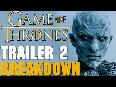 *NEW* Game of Thrones Season 7 Trailer 2 Breakdown