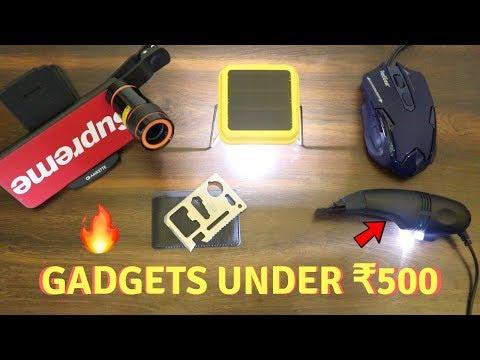 Unique Gadgets Under Rs500 | Part 12 | Tech Unboxing 🔥