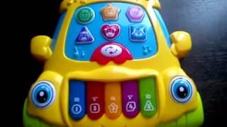 Музична розвиваюча іграшка Tongde ігрова панель е-нотка