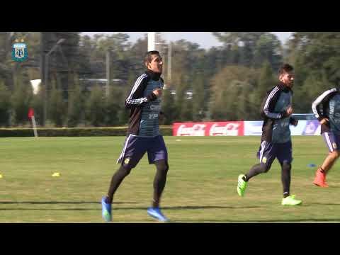 [SELECCIÓN MAYOR] Jueves de entrenamiento para la Selección Argentina