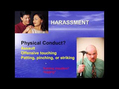 Supervisor Harassment Prevention Training   IMM