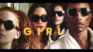 Repeat youtube video Pharrell Williams - Gust Of Wind ( GIRL Album Official Music Video)