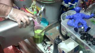 Casting Resin With a Pressure Pot