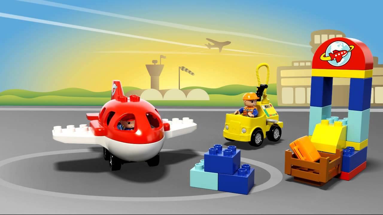 Aeroporto Lego : Lego duplo aeroporto animazione prodotto youtube