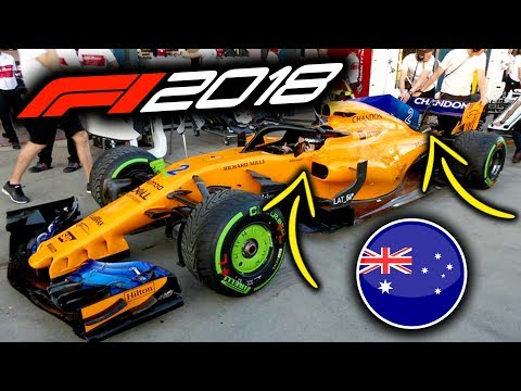 2018 Australian Grand Prix - Thur F1 Tech Round-Up (F1 2018 Australia)
