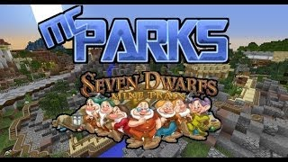 Seven Dwarfs Mine Train: Minecraft Walt Disney World! McParks Ridethroughs