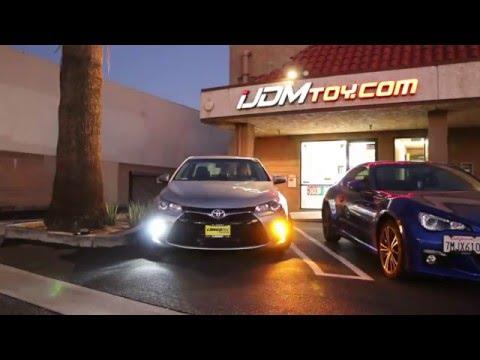iJDMTOY Toyota Camry LED Daytime Running Lights/LED Turn Signal Conversion Kit