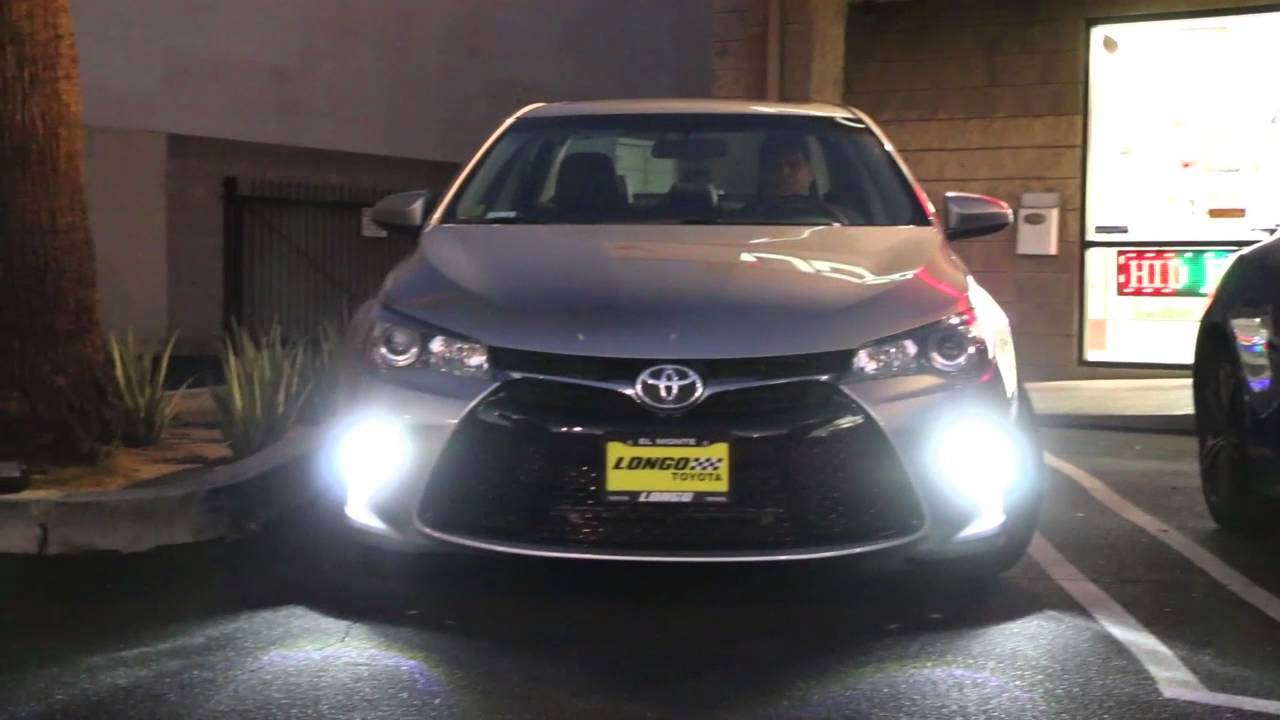 ijdmtoy toyota camry led daytime running lights led turn signal conversion kit youtube. Black Bedroom Furniture Sets. Home Design Ideas