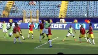 Nigeria Vs Guinea Highlights AFCON ( Watch the goal that qualifies Nigeria)   Football Goal TV