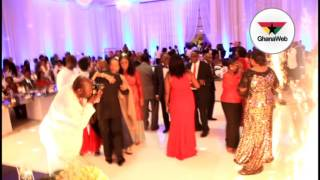 President Akufo Addo dances with wife, Rebecca at 20th wedding anniversary