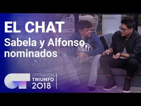 Sabela y Alfonso, nominados | El Chat | Programa 2 | OT 2018