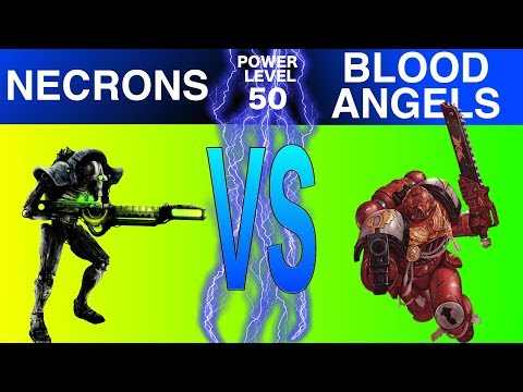 Warhammer 40k 8th Edition Live Battle Report Necrons Vs Blood Angles