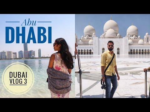 Abu Dhabi One Day Tour, Grand Mosque, Louvre Abu Dhabi | Dubai Vlog 3