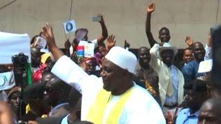 Gambia celebrates Barrow's inauguration