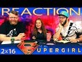 Supergirl 2x16 REACTION!!