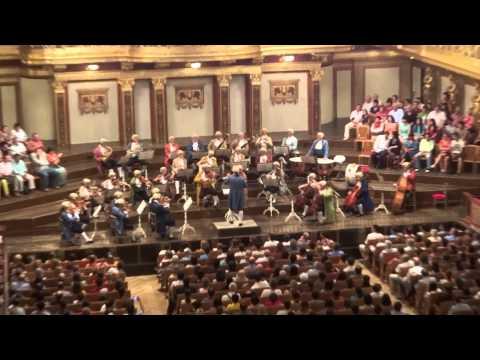 Mozart Concert in Wiener Musikverein, (Vienna) (Allegro)