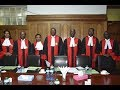Chief Justice David Maraga's six judge bench to release full verdict of the presidential petition