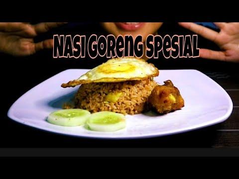 ASMR Nasi Goreng    Fried Rice    Asmr Indonesia
