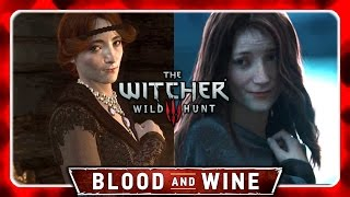 "Witcher 3 🌟 BLOOD AND WINE 🌟 Orianna Sings ""Lullaby of Woe"" - Night to Remember Trailer Song"