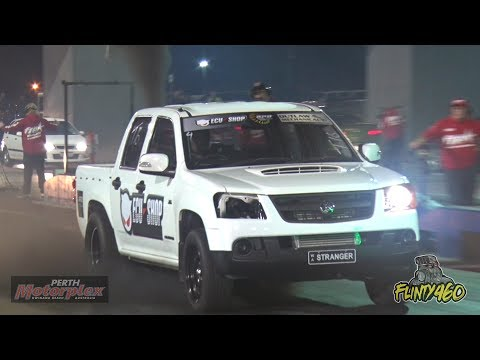 CRAZY TURBO DIESEL COLORADO SMOKES OUT THE MOTORPLEX