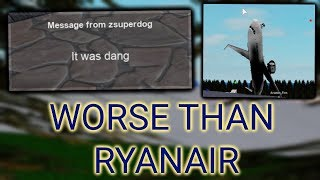This Roblox airline is worse than Ryanair (roblox flight)