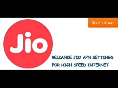 Reliance Jio Fastest APN Settings 2017 || Jio 4G High Speed Apn Settings 2017 { April Updated }