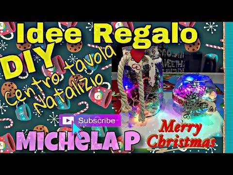 IDEE REGALO DIY  CENTRO TAVOLA NATALIZIO Christmas centerpiece  💝🎄✨🎅