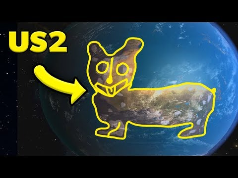 I LASERED EARTH INTO A CORGI in Universe Sandbox 2  