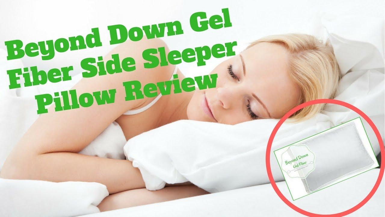 beyond down gel fiber side sleeper pillow reviews pillow for side sleeper beyond down gel pillow