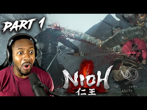 Nioh Dragon Of The North DLC - Odachi Build : New Greatsword Katana Playthrough Part 1