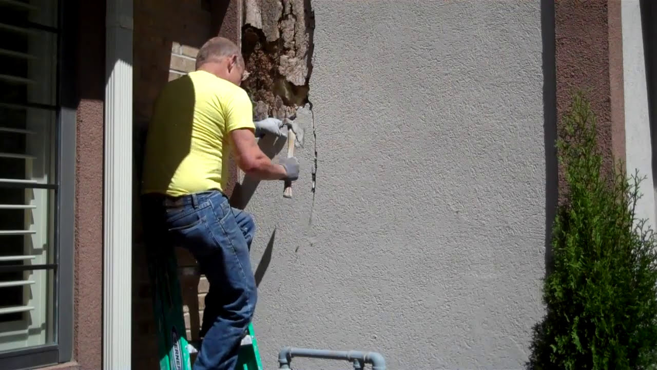 E I F S Damage So Called Synthetic Stucco Damage On Your
