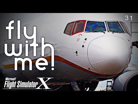 FSX - 757 to LAS on Pilotedge!