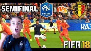 SEMIFINAL FRANCIA VS BELGICA - WORLD CUP 2018 - FIFA 18