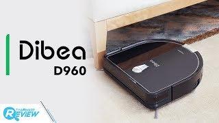 Dibea D960 หุ่นยนต์ดูดฝุ่นทรง D ซอกซอนลึกทุกมุมห้อง ใช้งานคล่อง ใครก็ใช้ง่าย
