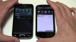 Samsung Galaxy S II vs. HTC Amaze 4G Dogfight Part 1