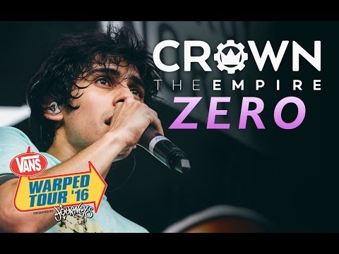 "Crown The Empire - ""Zero"" LIVE! Vans Warped Tour 2016"