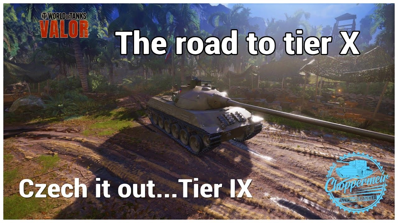 World of Tanks Valor PS4 // Skoda T50 6.8k combined Ace tanker // Road to tier X