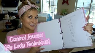 MY CONTROL JOURNAL  HOW   USE THE FLYLADY SYSTEM