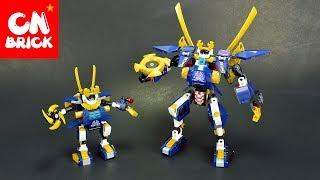 LEGO NINJAGO MINI SAMURAIX MECH DLP 519 Unofficial LEGO lego videos