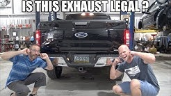 We made the Ford F150 MEGA LOUD! Borla ATAK exhaust install!