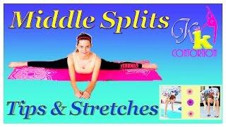 How to get your Straddle Splits FAST  Middle splits