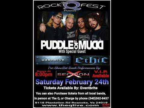 Puddle of Mudd - Roanoke, VA - Concert Videos - February 24, 2018