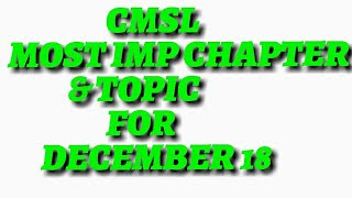 Capital markets and security laws most IMP TOPIC and chapter  for Dec-2018|| cs executive