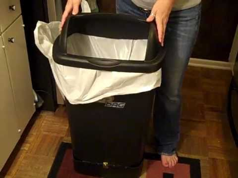 Automatic Bag Replacement Trashcan - Working Prototype Patent Pending