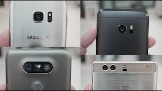 افضل كاميرا بين أجهزة LG G5 Vs Galaxy S7 Edge Vs HTC 10 Vs Huawei P9 Plus